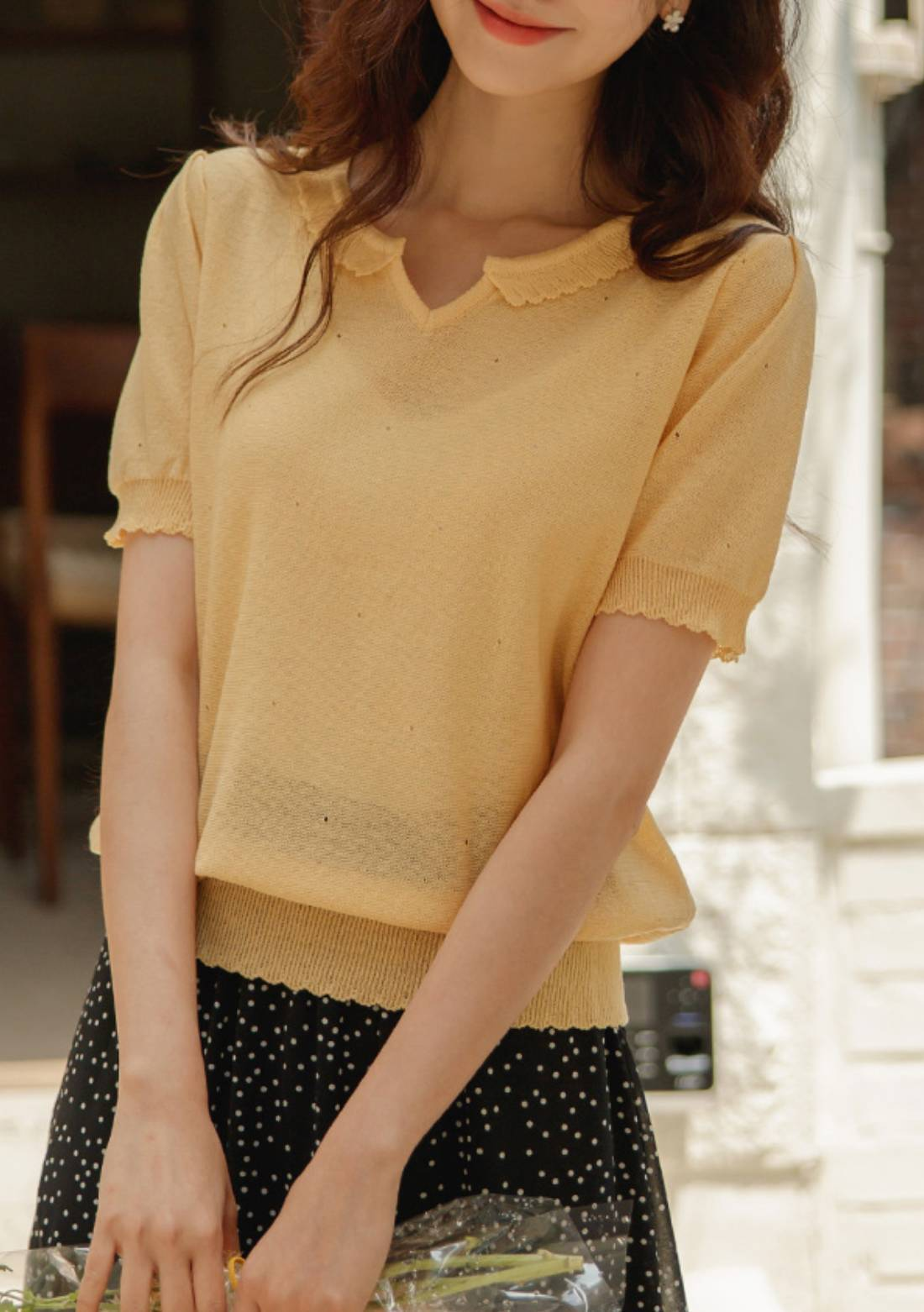 Acting Differently Knit Top