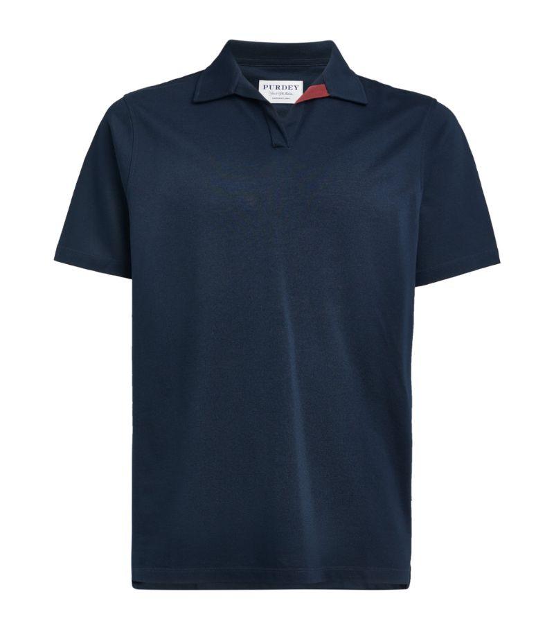 Purdey Cotton Riviera Polo Shirt