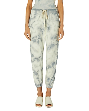 Enza Costa Tie Dye French Terry Jogger Pants