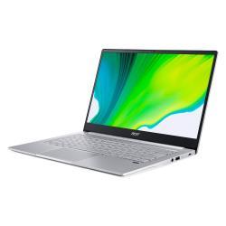 Acer宏碁 SF314-42-R5CD 輕薄筆電 14吋/R7-4700U/8G/PCIe 512G SSD/W10 銀