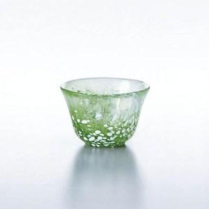 日本TOYO-SASAKI 玻璃小酒杯-綠色