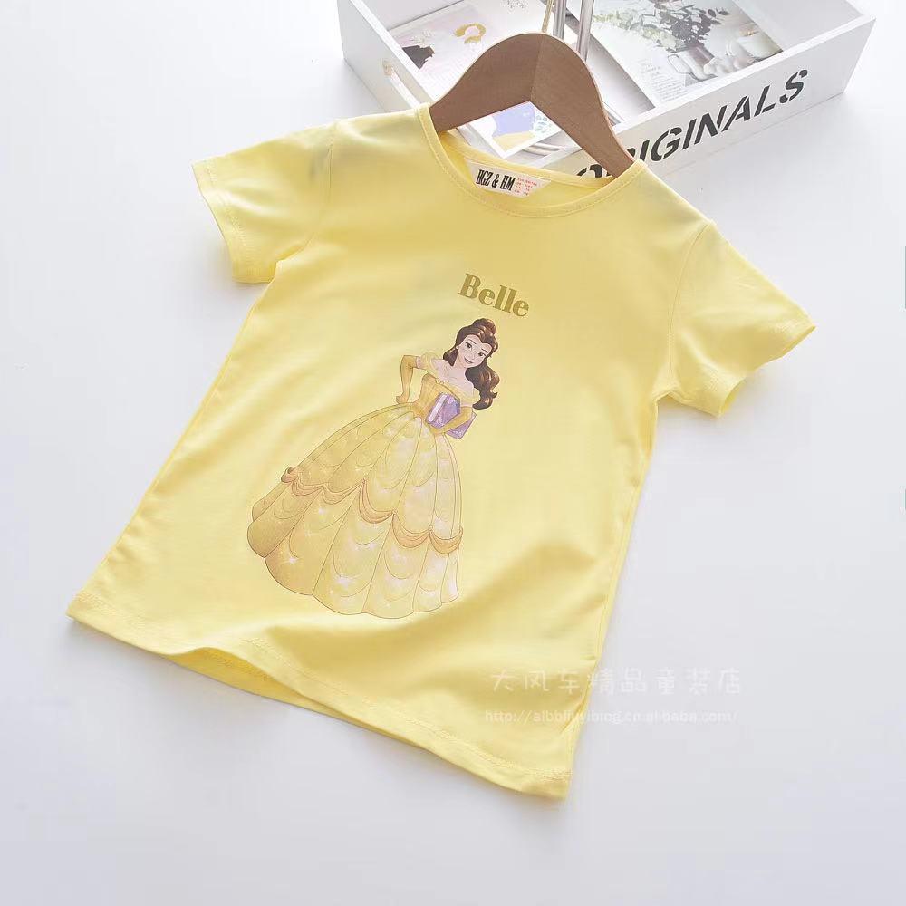 外銷童裝 純棉貝兒公主百搭襯衫上衣