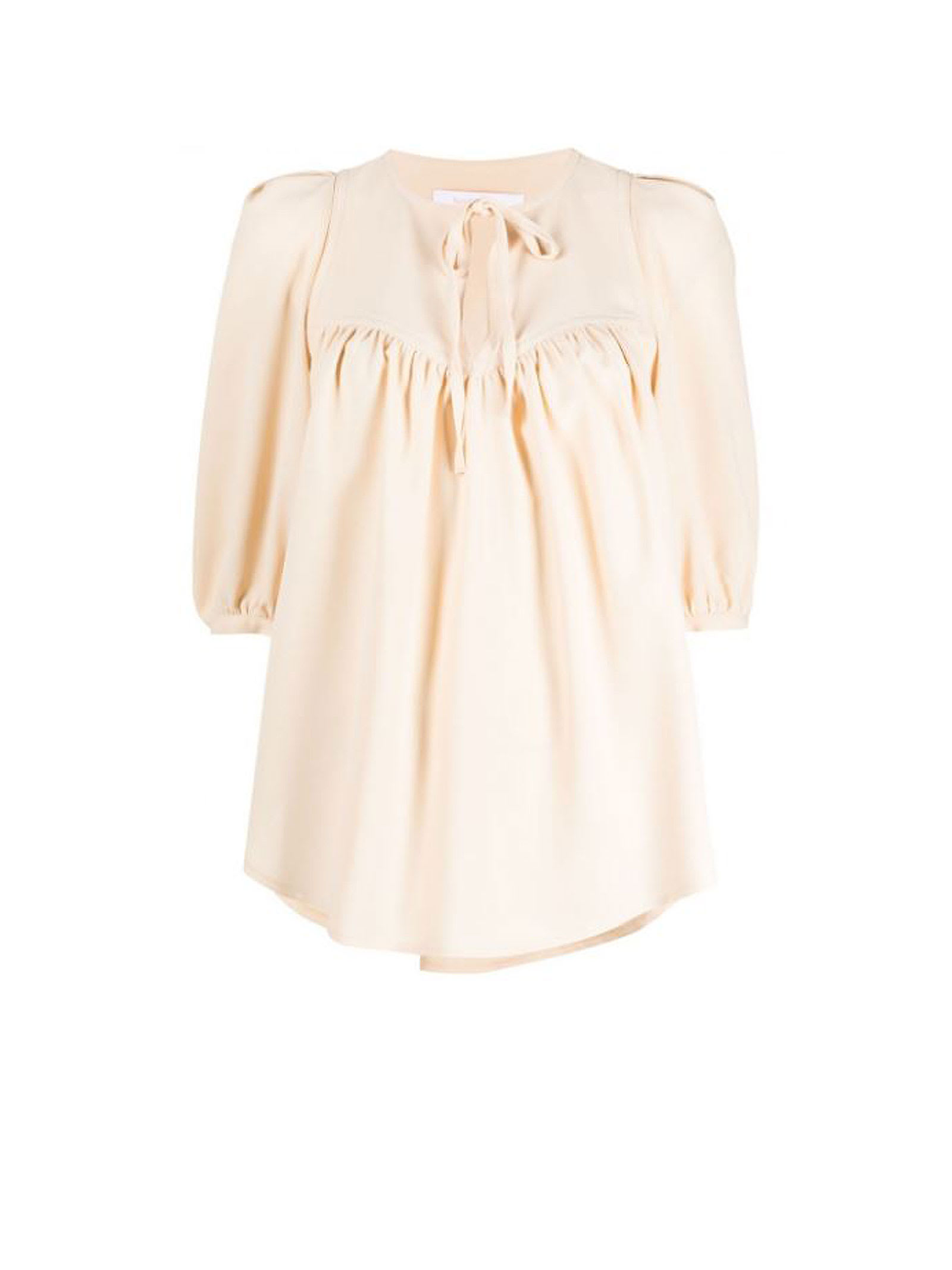 See by Chloé Blouse Macadamia Color
