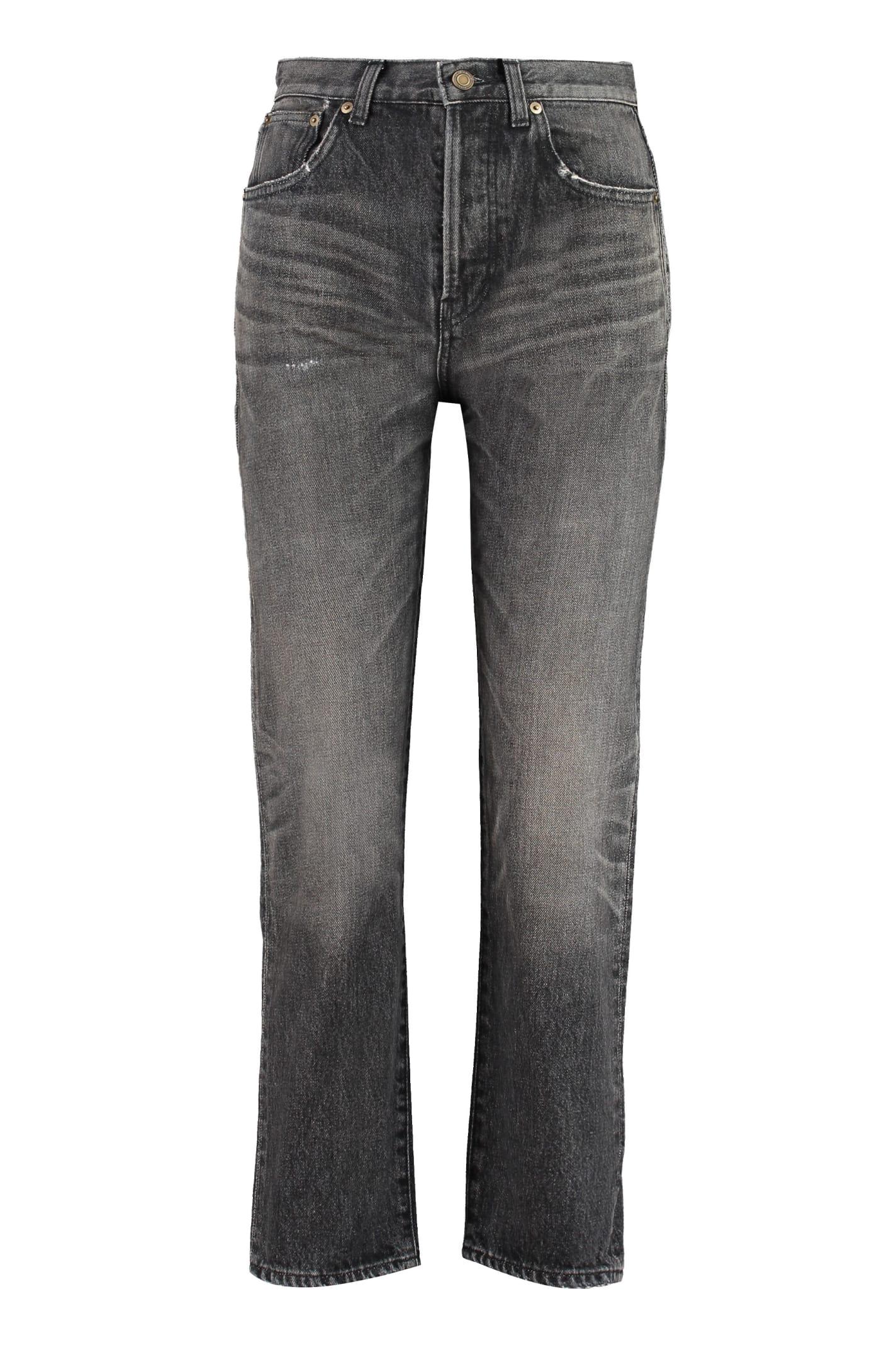 Saint Laurent 5-pocket Slim Fit Jeans