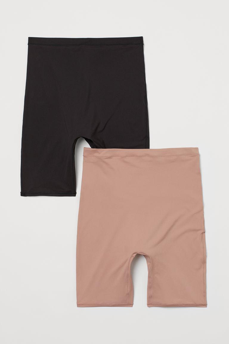 H & M - MAMA 2件入自行車短褲 - 粉紅色