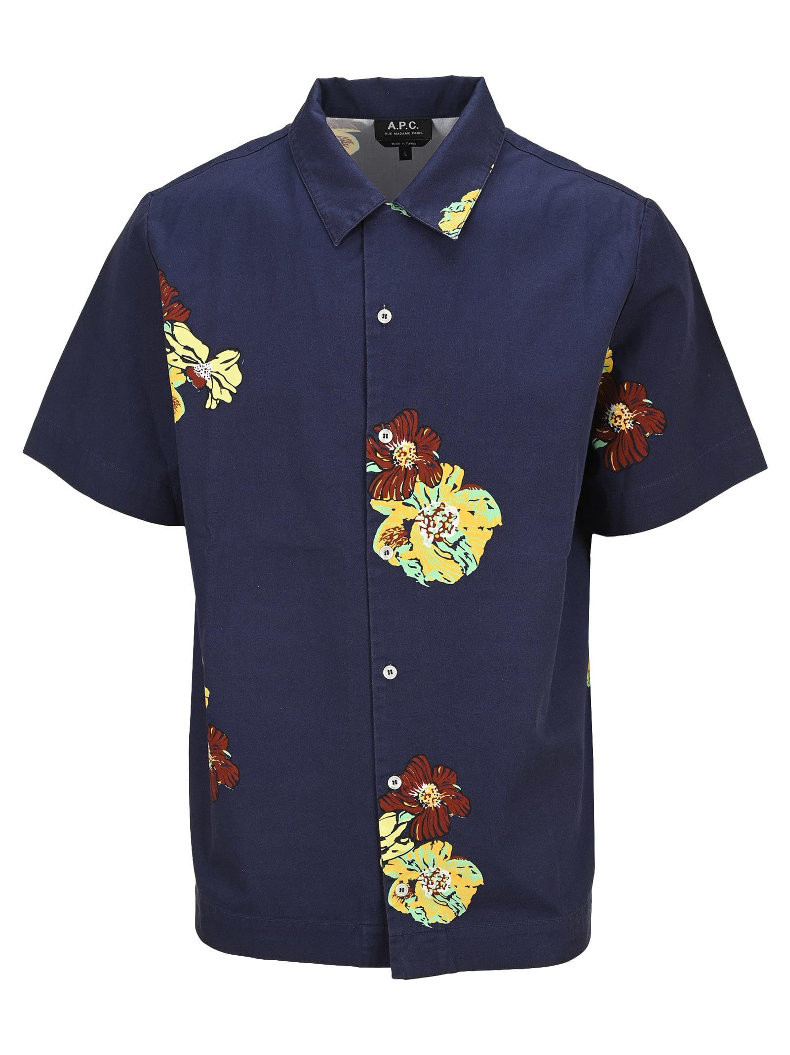 A.p.c. Louis Short-sleeve Shirt
