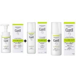 Curel珂潤 控油保濕屏護保養組合套組(原廠公司貨)