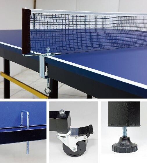 瑞典第一品牌 STIGA ST-919桌球桌/ 桌球檯/乒乓球桌 19mm /ST919附網架、桌拍及桌球(部分縣市須加運費,運費為貨到付款)