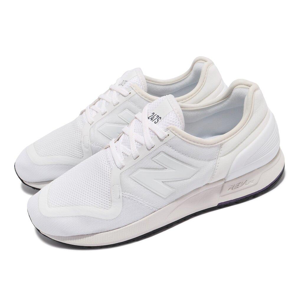NEW BALANCE 休閒鞋 247S v3 流行款 女鞋 紐巴倫 經典款 N字鞋 穿搭推薦 白 [WS247SD3B]
