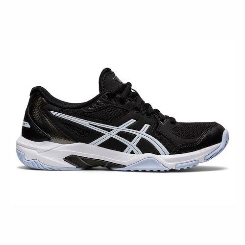 Asics Gel-rocket 10 [1072A056-001] 女鞋 羽球鞋 排球鞋 透氣 支撐 亞瑟士 黑 白
