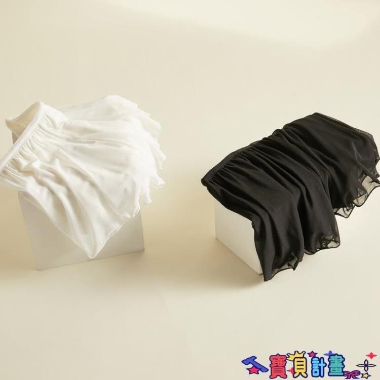 安全褲 jk安全褲防走光女不卷邊南瓜褲lolita夏薄款可愛日系保險打底短褲  618特惠