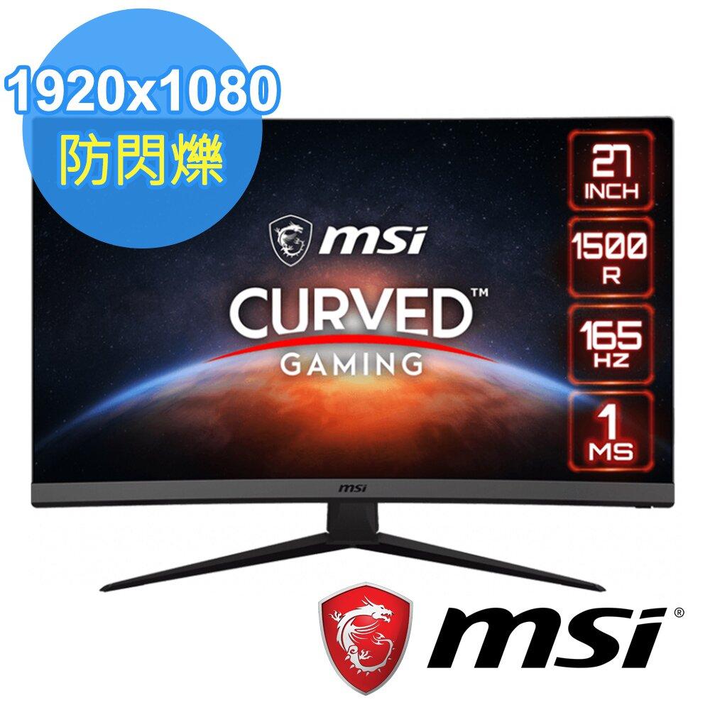 MSI 微星 Optix G27C7 27型曲面電競螢幕