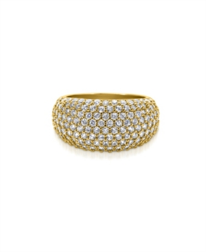 Oma The Label Women's Yiyi 18K Gold Plated Brass Ring