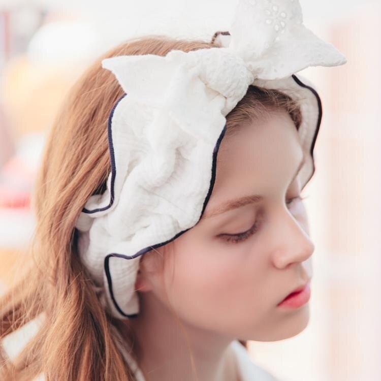 月子帽 月子防風護頭巾夏季純棉產後產婦帽孕婦秋季坐月子束透氣包頭髮帶【快速出貨】