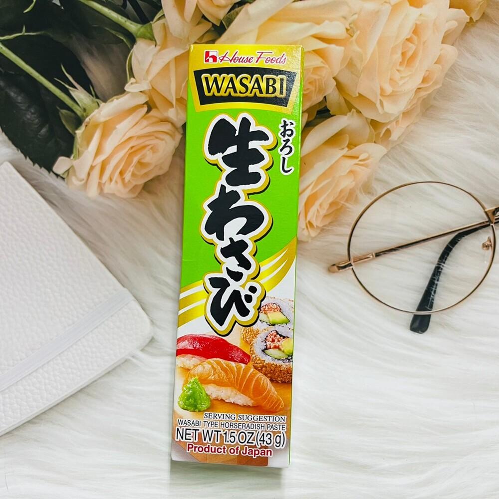 潼漾小舖 日本 house 好侍 芥末醬 山葵醬 43g / 柚子胡椒鹽 40g