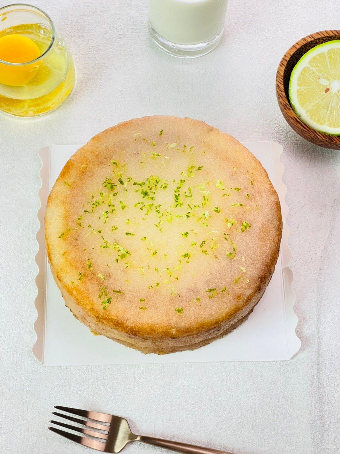 老奶奶檸檬蛋糕 6吋 蛋奶素 日本麵粉 法國奶油 新鮮檸檬
