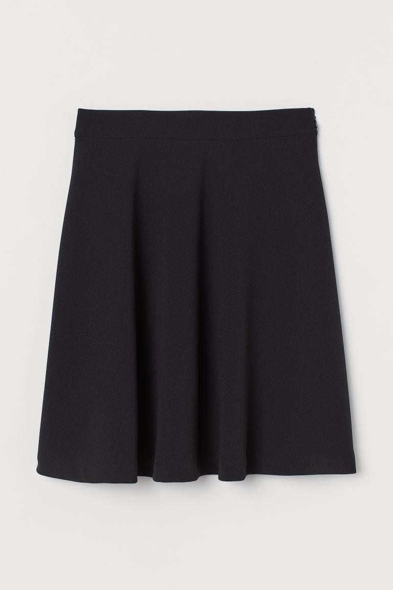 H & M - 滑板裙 - 黑色