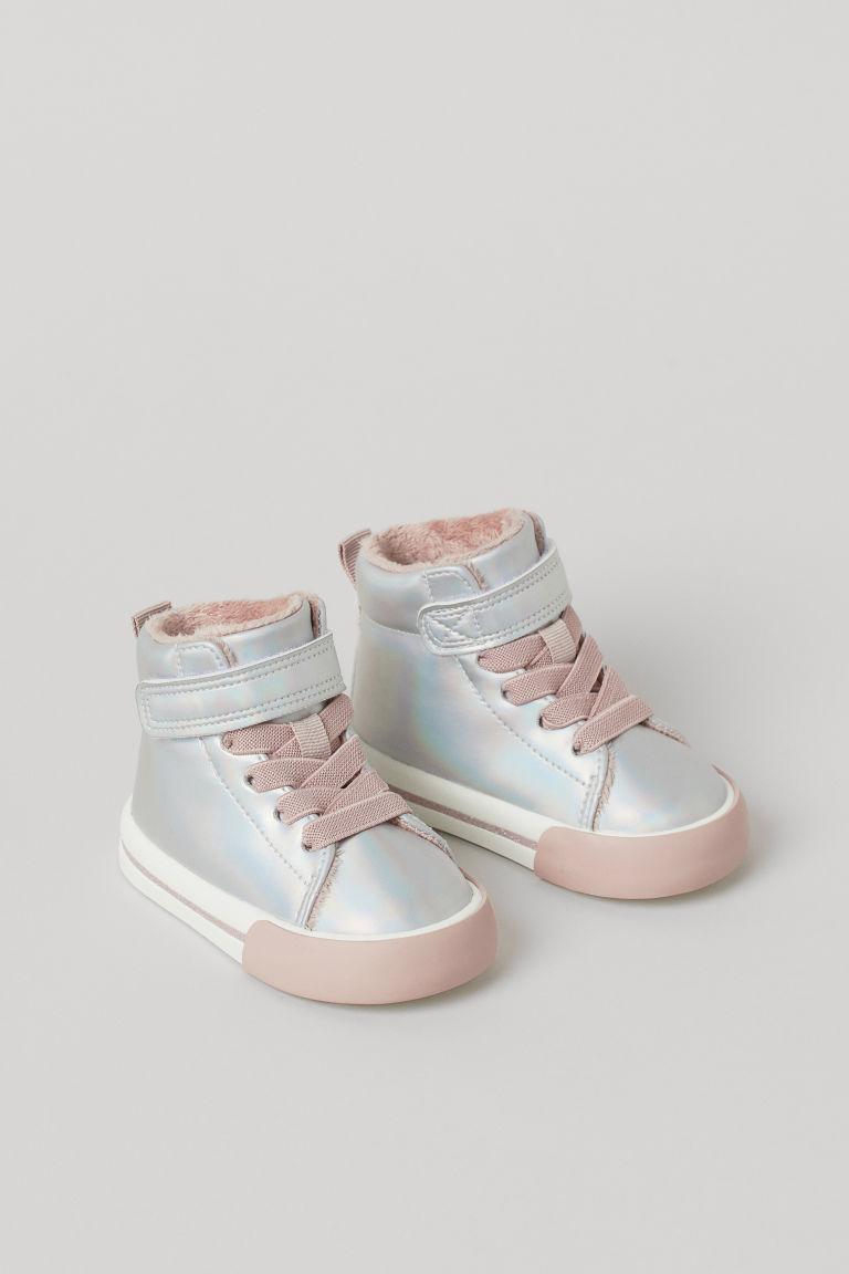 H & M - 高筒鞋 - 銀色