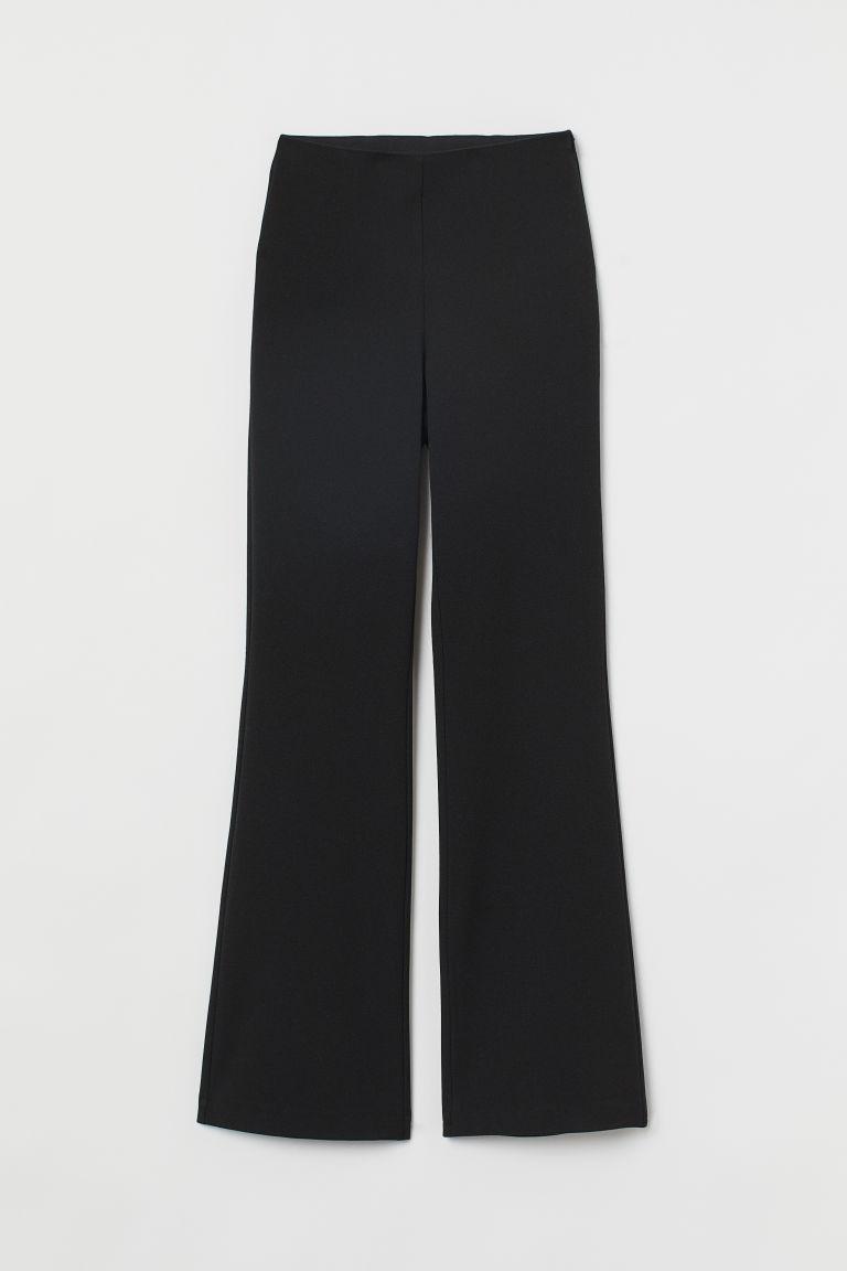 H & M - 喇叭褲 - 黑色