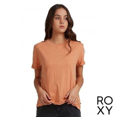 【ROXY】SURFING IN RHYTHM A T恤 咖啡色