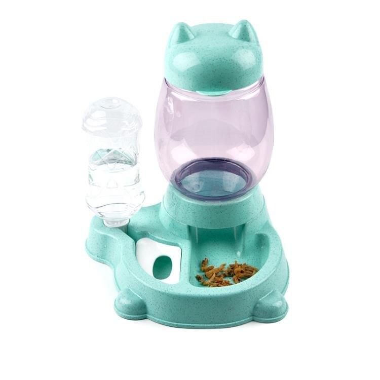 新款狗碗狗盆貓食盆防打翻貓狗通用中小型犬自動飲水喂食器泰迪