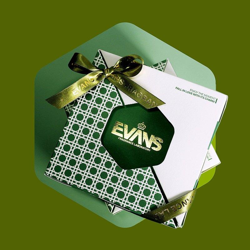EVANS  | 小玻璃禮盒組70Gx4