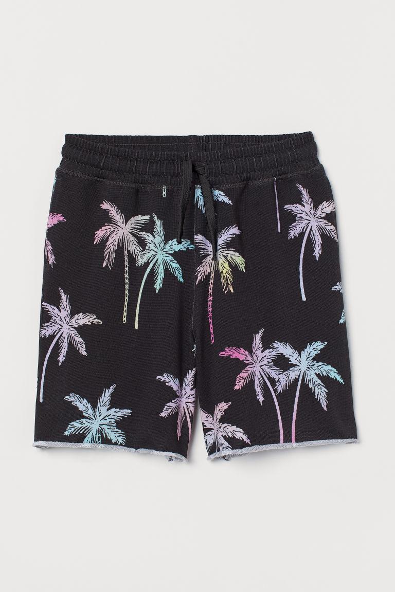 H & M - 運動短褲 - 黑色