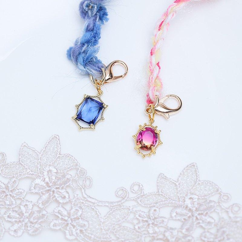 簡約 藍水晶 粉紅水晶  口罩掛鍊 項鍊 百搭項鍊 口罩鏈防疫小物
