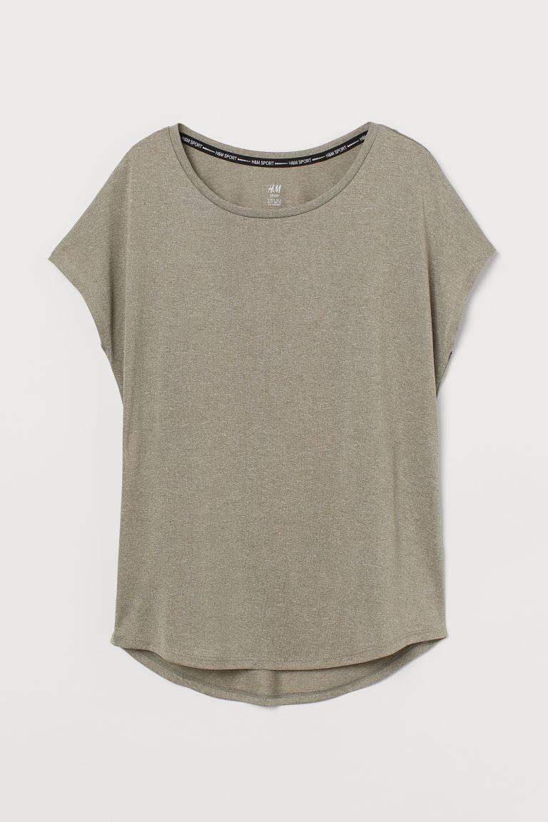 H & M - 運動上衣 - 綠色