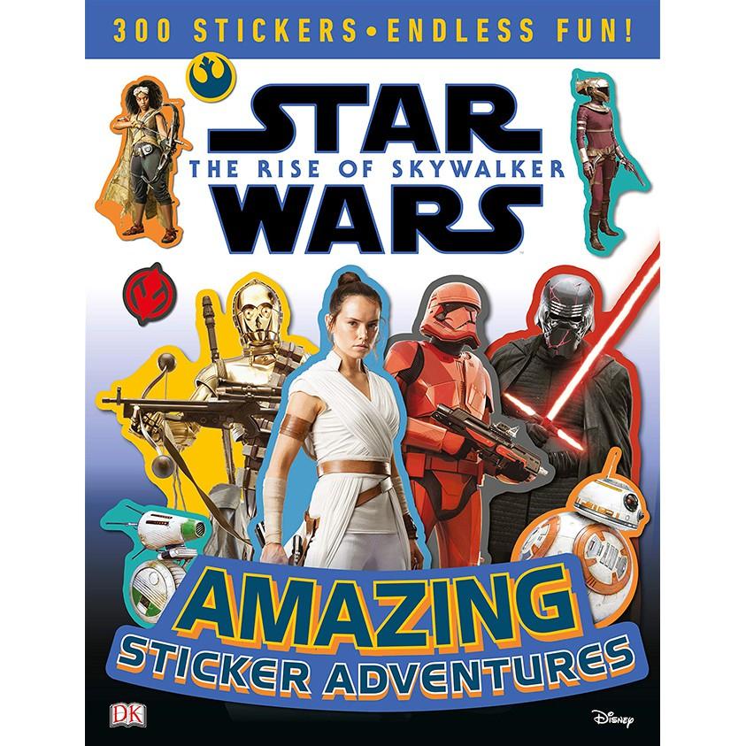 Star Wars The Rise of Skywalker  星際大戰-天行者的崛起 (貼紙書)