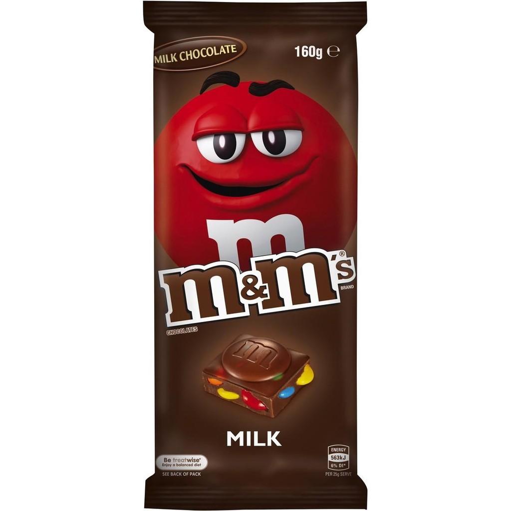 M&M's 精選片裝牛奶巧克力 160g  【大潤發】