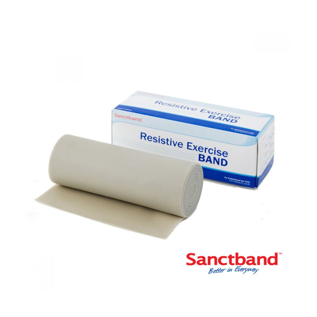 Sanctband拉力帶-銀(5米-加強超重型)