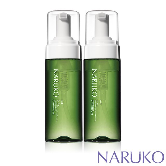【iBeaute】NARUKO茶樹粉刺快閃洗卸兩用慕絲150ml