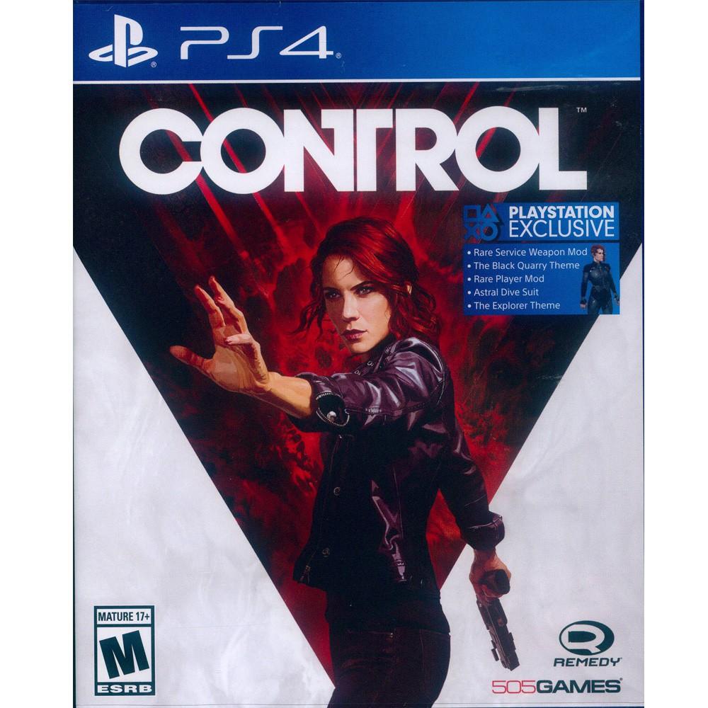PS4 控制 中英文美版 Control (一起玩)