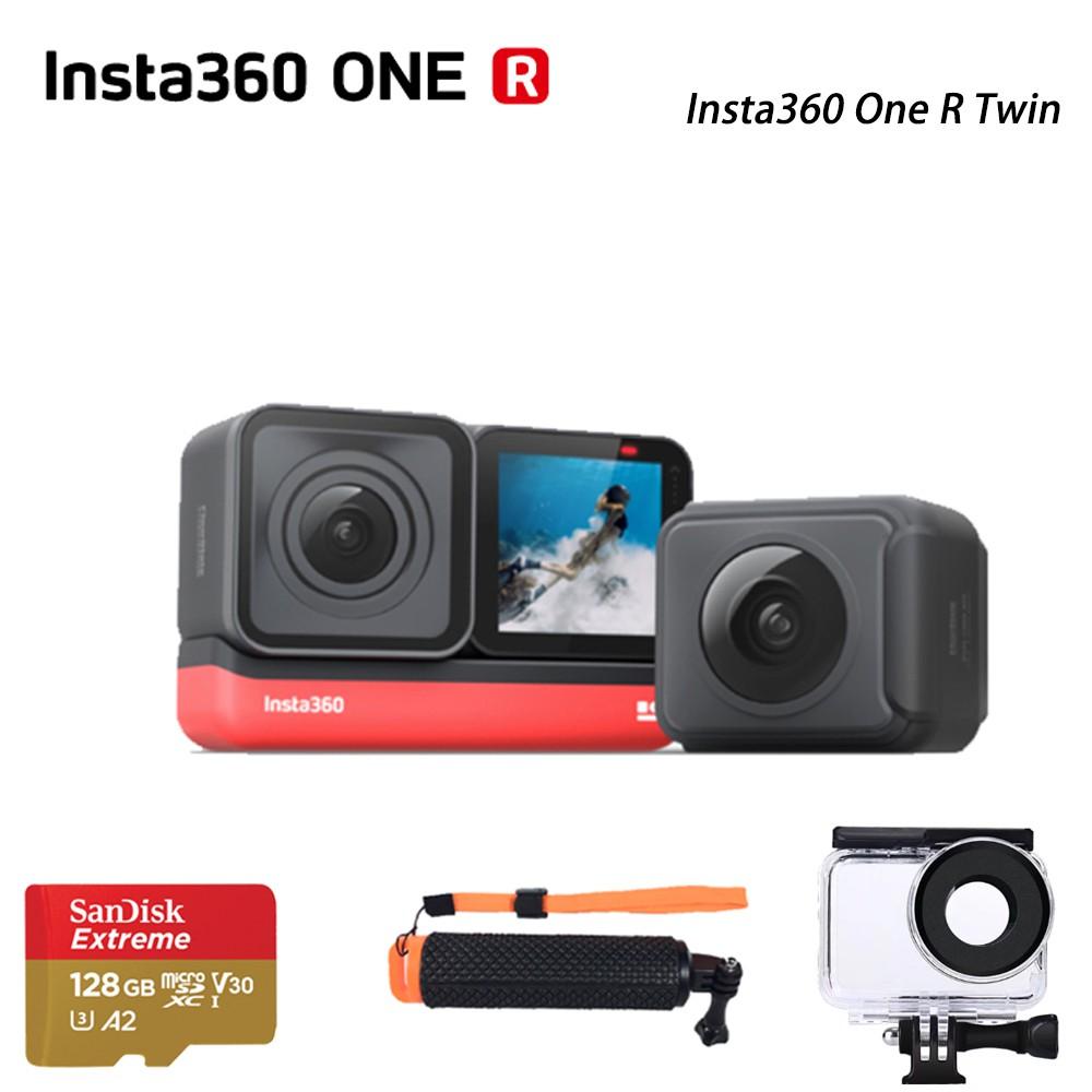 【分期0利率】Insta360 One R Twin 套裝組(含4k及全景鏡頭) 運動 相機 4K 雙鏡組 +玩水組