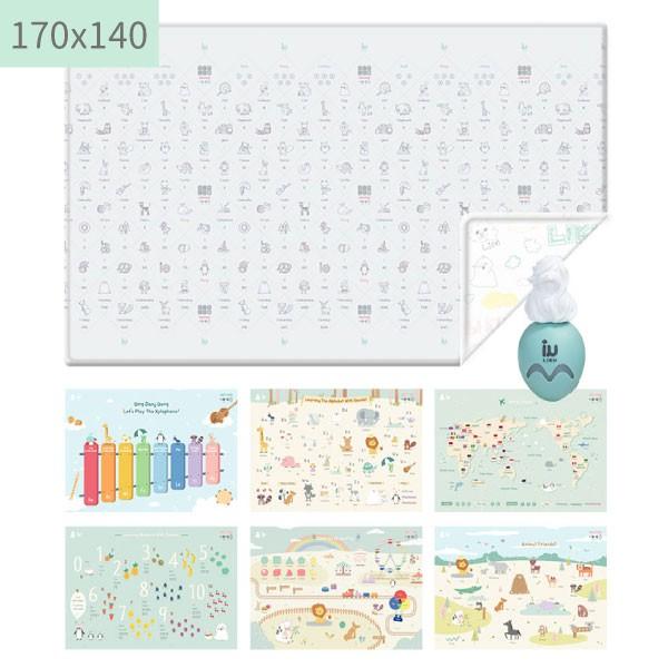 韓國LIKU Edu Mat-One Touch兒童發音教育點讀遊戲墊(170x140)【麗兒采家】