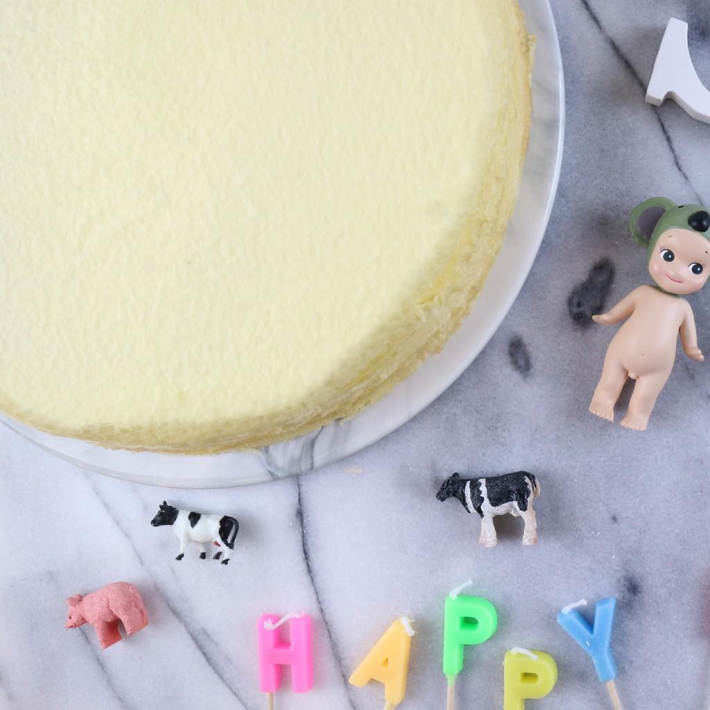 【Sugar Miss】原味香草生乳千層蛋糕