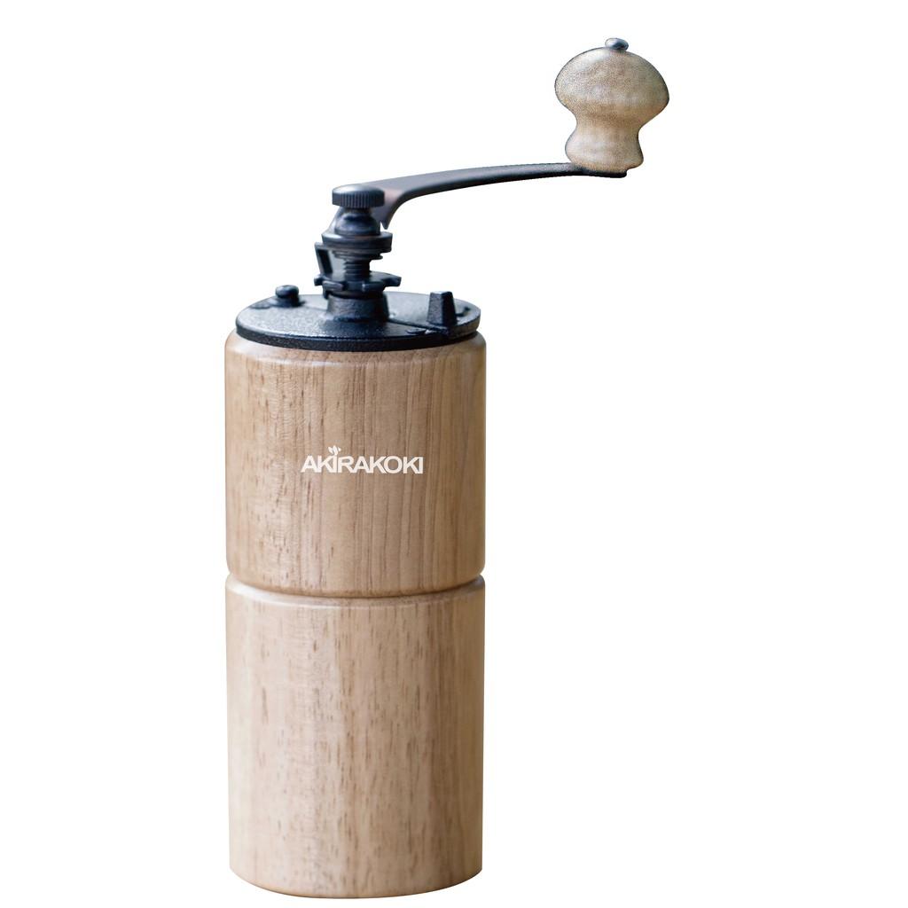 正晃行 AKIRAKOKI 最新款古典型原木手搖磨豆機