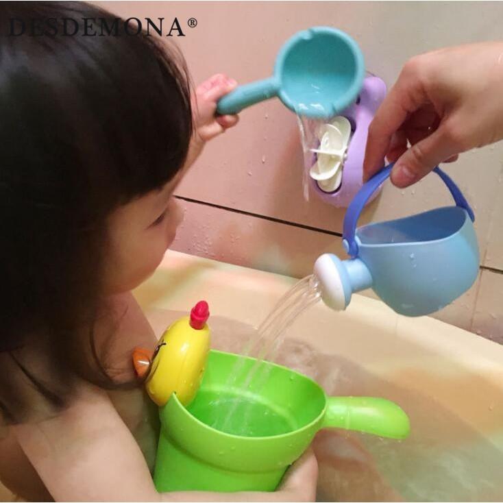 母婴嬰幼兒益智嬰兒玩具 兒童嬰兒洗澡沐浴戲水浴室玩具洗頭杯水車小勺子小花灑套裝 兒童玩具母婴