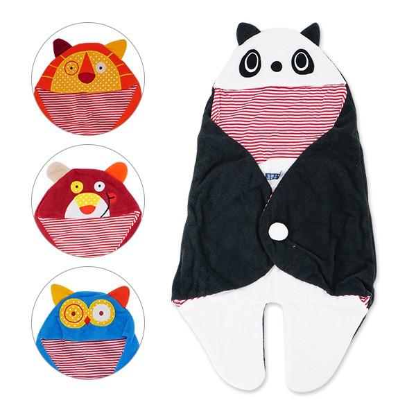 嬰兒包巾 造型分腿睡袋 多功能保暖抱毯 蓋被 雪倫小舖