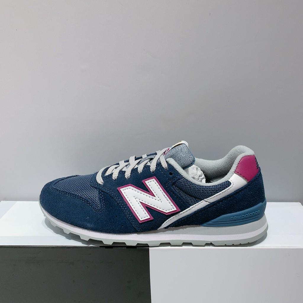 New Balance 996 女生 藍色 麂皮 復古 舒適 運動 休閒鞋 WL996WA