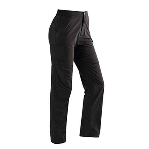 瑞多仕 DA3245 女款快乾休閒長褲(二截式) 黑色