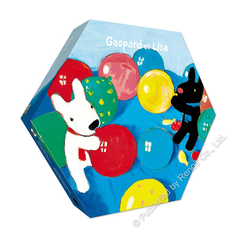 氣球派對/504片/Gaspard et Lisa