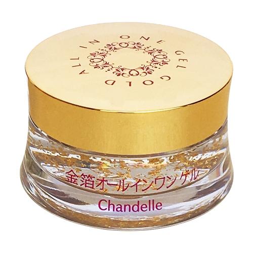 Chandelle Moisture Gel G 金箔6效保濕凝膠(50g)【小三美日】D591873