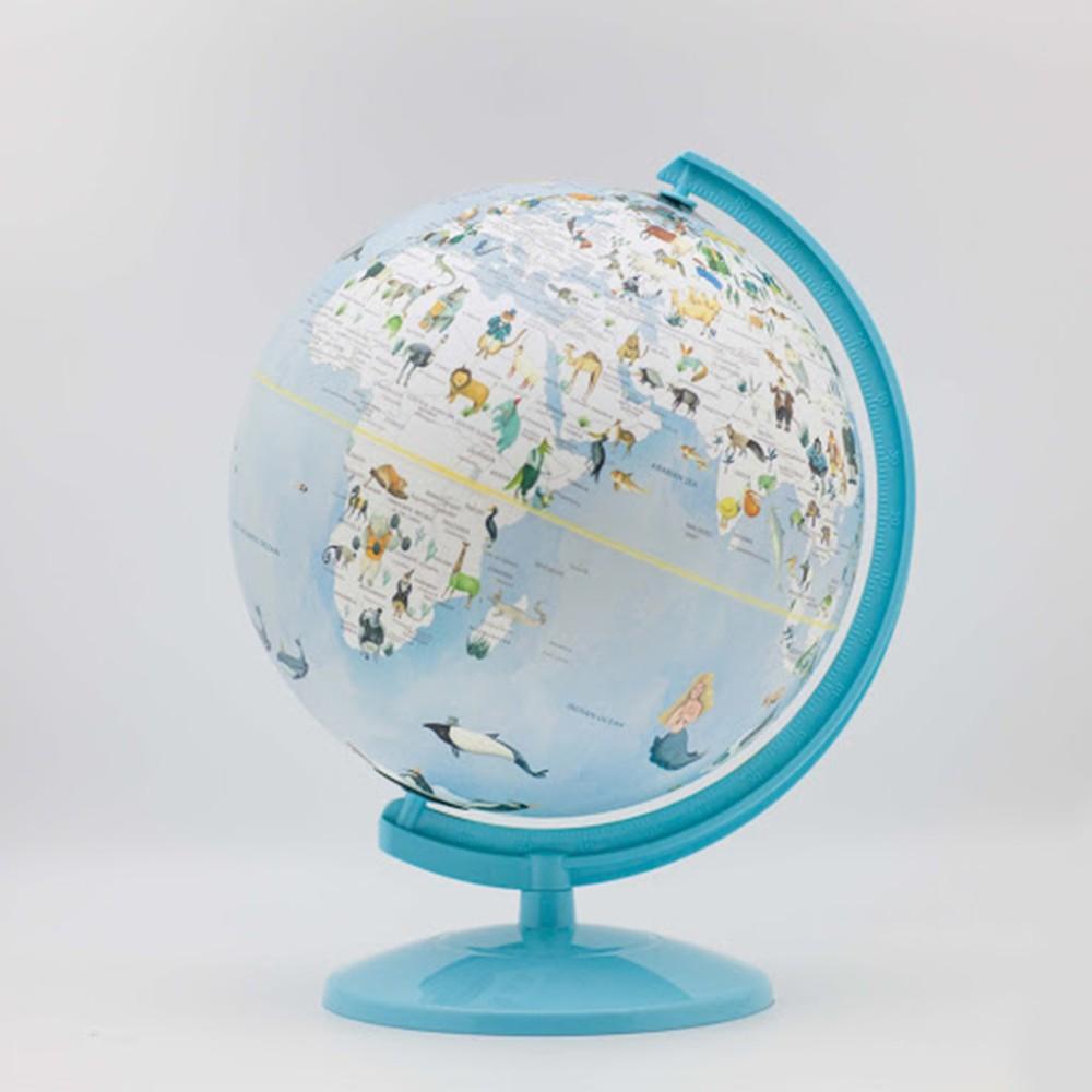 【SkyGlobe】10吋童話動物版地球儀(附燈)(中英文版) - 共2色 《屋外生活》