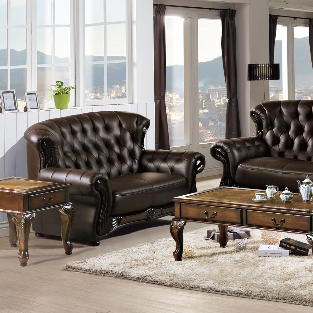 【160cm雙人座皮沙發-B221-07】 單人座 L型沙發 貓抓皮 布沙發 沙發床 沙發椅 【金滿屋】