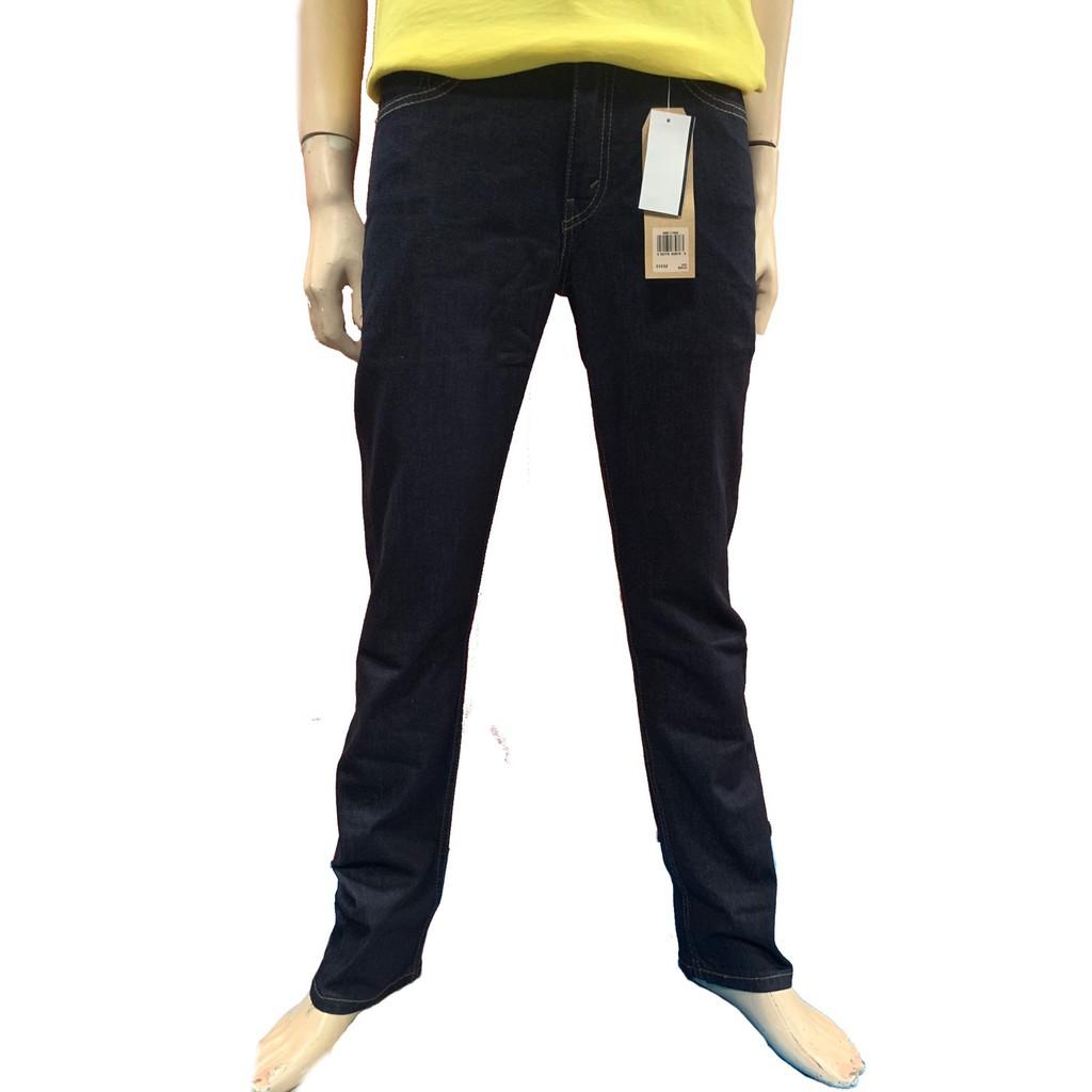 Levi's-511™ 低腰修身窄管牛仔褲 / 原色黑色款 / 修身版型/單寧牛仔長褲LEVIS-045111042