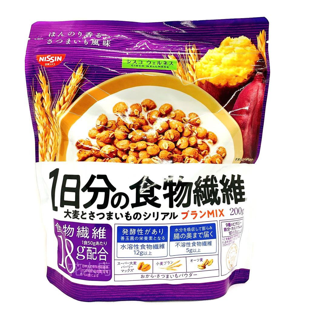 NISSIN 日清 穀物 穀物麥片 200g 食物纖維 早餐麥片 日清麥片 日清穀物麥片 日清穀物