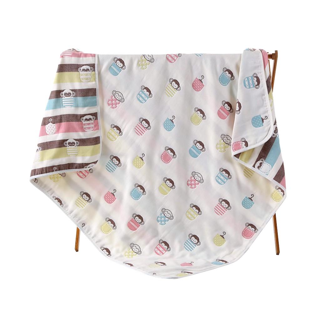 六層紗布蓋被 包巾 嬰兒蓋毯 空調毯-雪倫小舖