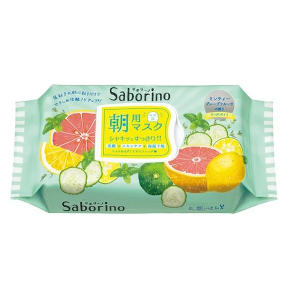 BCL Saborino早安面膜(清爽型)(32枚入)【小三美日】D186335